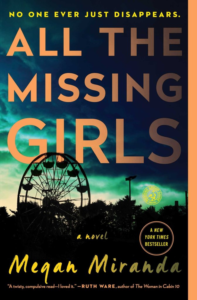 All the Missing Girls Novel by Megan Miranda Book Review
