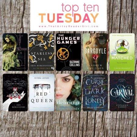TOP TEN TUESDAY Books I Want To ReRead
