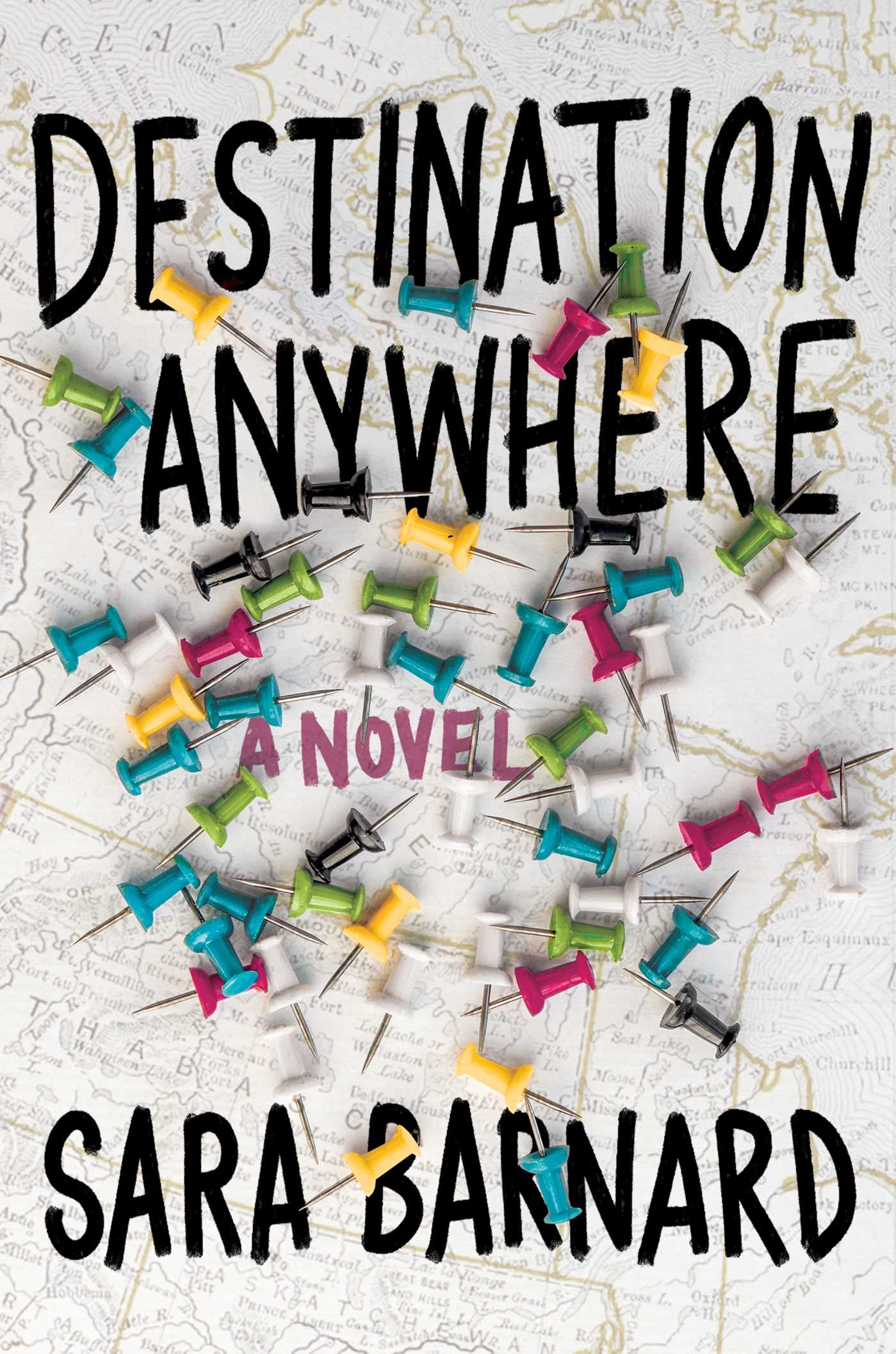February Book Releases Destination Anywhere by Sara Barnard