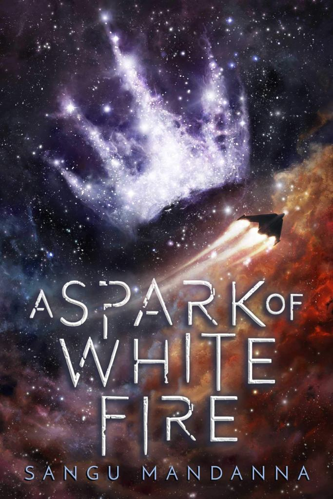A Spark of White Fire by Sangu Mandanna Book Covers With Crowns