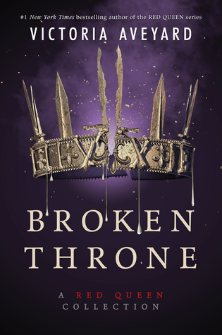 Broken Throne by Victoria Aveyard Book Covers With Crowns
