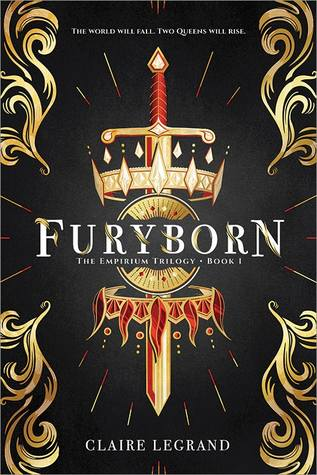 Furyborn by Claire Legrand Book Covers With Crowns