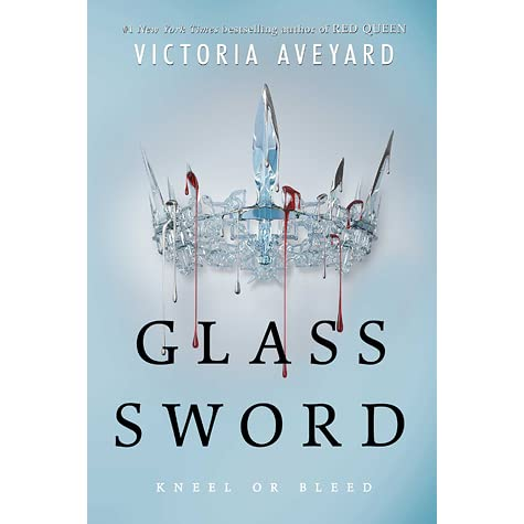 Glass Sword by Victoria Aveyard Book Covers With Crowns