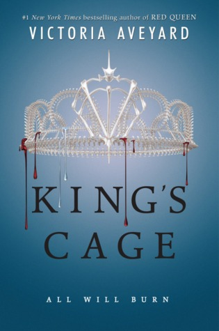 Kings Cage by Victoria Aveyard Book Covers With Crowns
