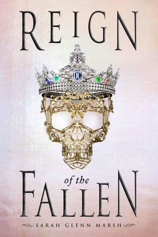 Reign of the Fallen by Sarah Glenn Marsh Book Covers With Crowns