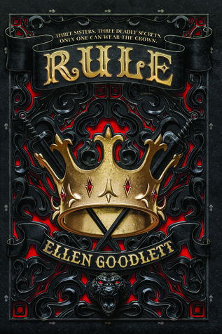 Rule by Ellen Goodlett Book Covers With Crowns