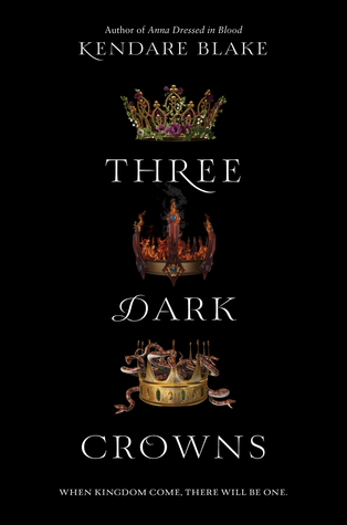 Three Dark Crowns by Kendare Blake Book Covers With Crowns
