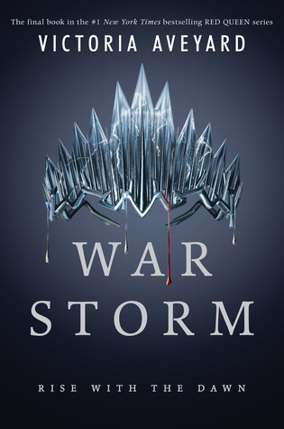 War Storm by Victoria Aveyard Book Covers With Crowns