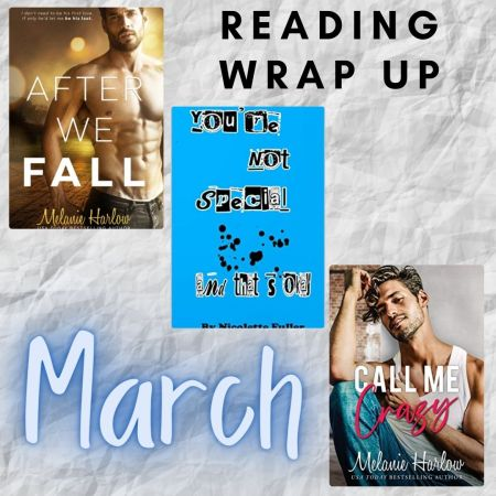 March Reading Wrap Up For The Love Of Books Blog